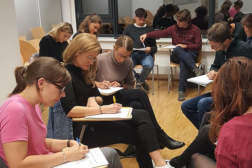 Leadership und Kompetenzentwicklung ist zentrales Thema des neuen Erweiterungsstudiums. Foto: Uni Graz/Nentwig