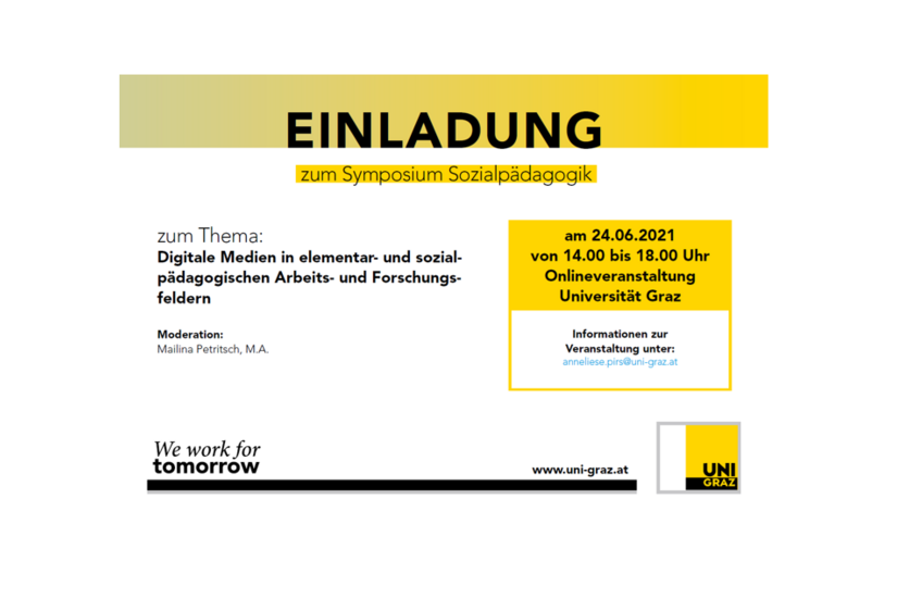 Einladung zum Symposium Sozialpädagogik
