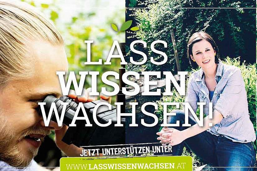 Mit der Spendenaktion Lass Wissen wachsen möchte die Universität Graz den Botanischen Garten noch mehr sichtbar machen. Foto: Uni Graz