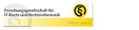 Logo Forschungsgesellschaft für IT-Recht und Rechtsinformatik