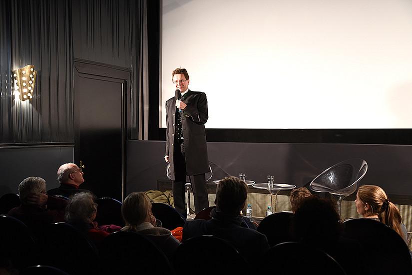 Vizerektor Martin Polaschek begrüßte die Gäste im vollen Rechbauer-Kino.