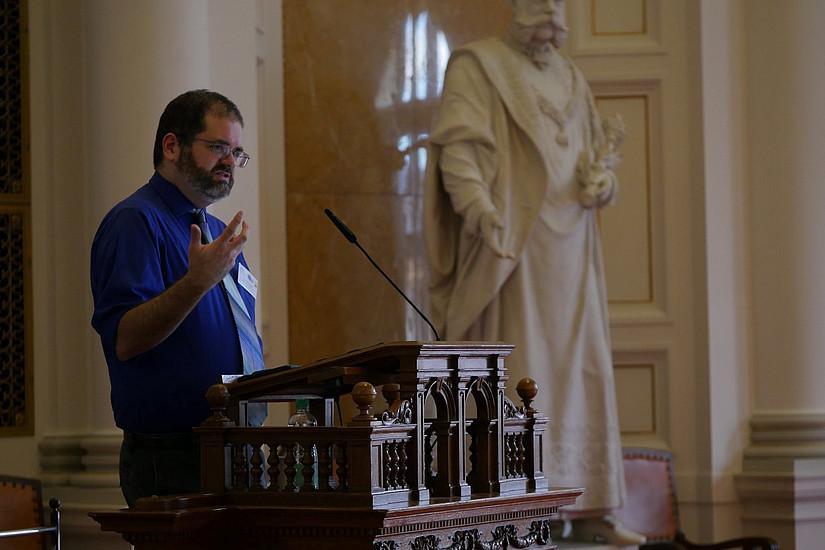 Keynote Gerry Canavan; Picture Credit: Kulturverein Kunstkessel