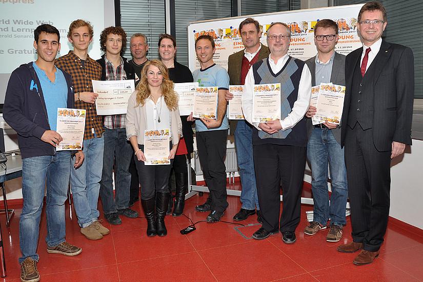 Alle ELCHe 2013 - auch viele Anerkennungspreise wurden vergeben.