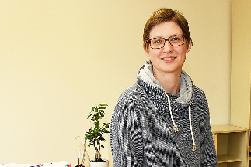 Bettina Kubicek ist seit Herbst 2018 Arbeits- und Organisationspsychologin an der Universität Graz. Foto: Uni Graz/Leljak.
