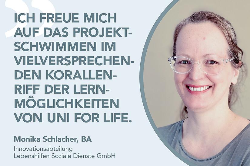 Monika Schlacher, BA über DIM