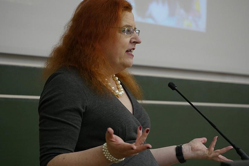 Keynote Cheryl Morgan; Picture Credit: Kulturverein Kunstkessel