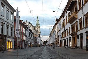 Herrengasse in Graz Foto: Suzanne Fromme auf Pixabay