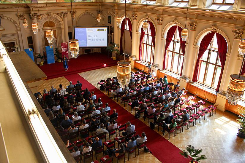 Der NAWI-Fakultätstag gab Einblick in die Forschungen. Foto: Uni Graz