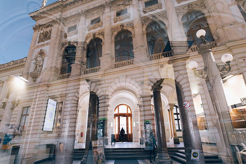 Zulasssung zum Studium: Seit 7. Jänner kann man sich für das Sommersemester rückmelden. Foto: Uni Graz Kanizaj