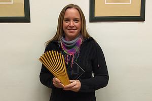 Nadine Kretschmer forscht an Wirkstoffen aus Pflanzen gegen Krebs. Foto: KK
