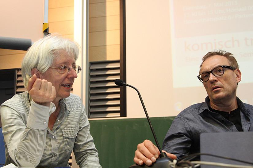 Die Germanistin Beatrix Müller-Kampel lotste nach Alfred Dorfer den zweiten Stargast in diesem Semester an die Karl-Franzens-Universität.