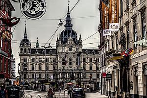 Stressfrei in der Grazer Innenstadt surfen: eduroam in the city macht es möglich. Foto: Pixabay.com/TheoRivierenlaan