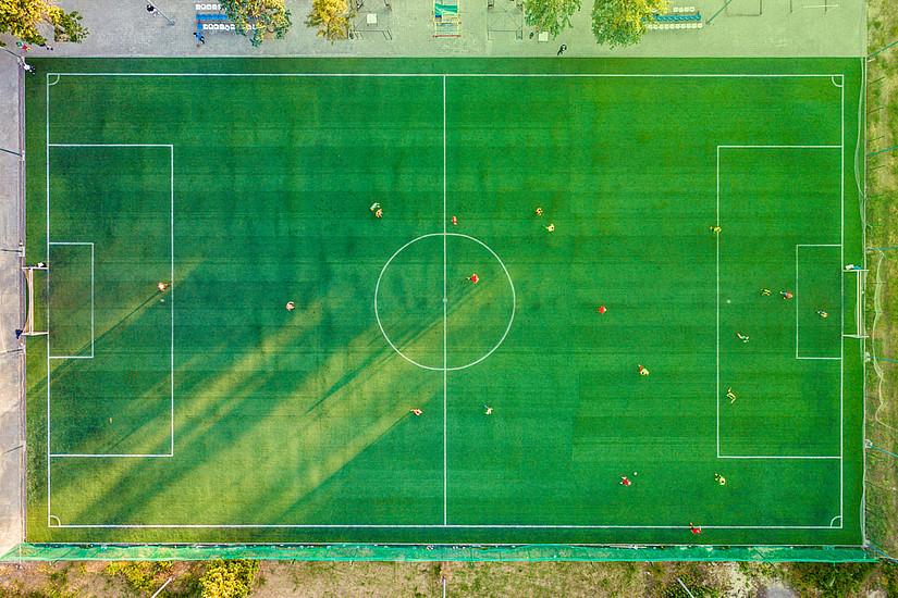 Grazer und Kölner Neuro-WissenschafterInnen haben Aufgaben für FußballerInnen entwickelt. Kreativität wird somit eindeutig messbar. Foto: Pexels.com