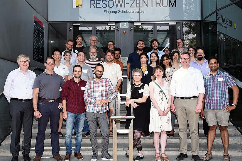 """TeilnehmerInnen der Tagung """"Responding to an Uncertain Future"""". Foto: Uni Graz/Pichler"""