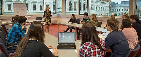 Karl Franzens Universität Graz, Lehre, Seminarraum, Unterricht