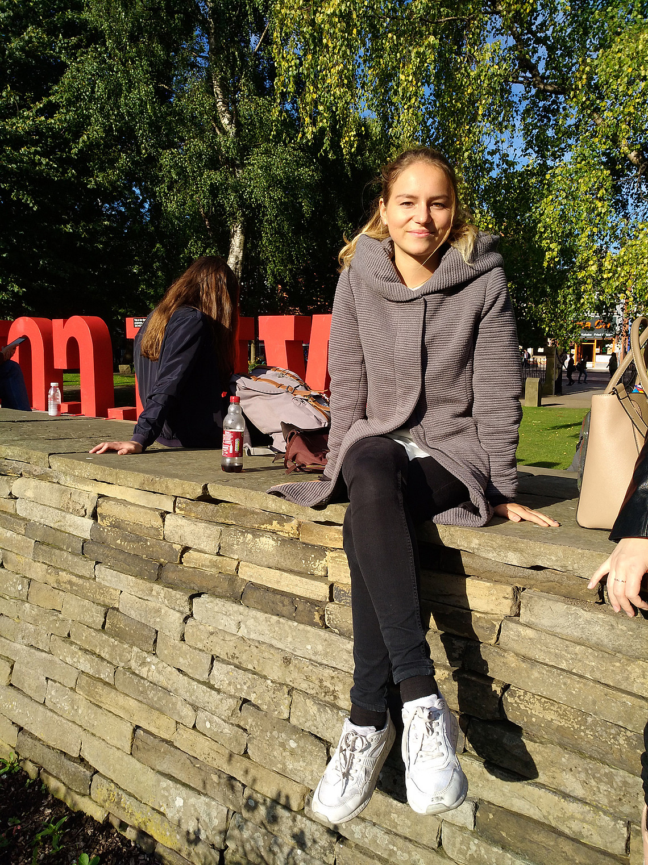 Katharina Wimmer studiert zurzeit in Manchester. Foto: Wimmer
