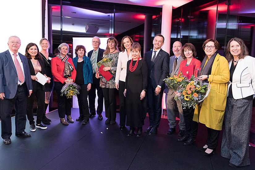 Die PreisträgerInnen 2017.