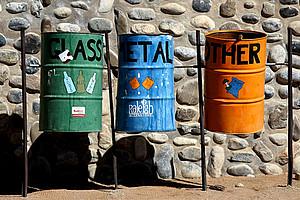 In Sachen Mülltrennung sind die ÖsterreicherInnen international vorn dabei. Foto: La-Liana  / pixelio.de.