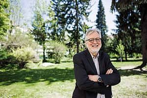 Der renommierte Grazer Biochemiker Rudolf Zechner wurde zum Mitglied der US-Academy of Sciences gewählt. Foto: Uni Graz/Kernasenko