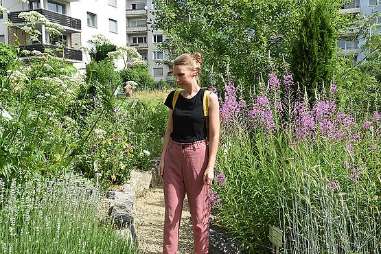 Heilpflanzen für alle Sinne: Ein eigener Gartenbereich zeigt Gewächse aus unterschiedlichen Erdteilen.