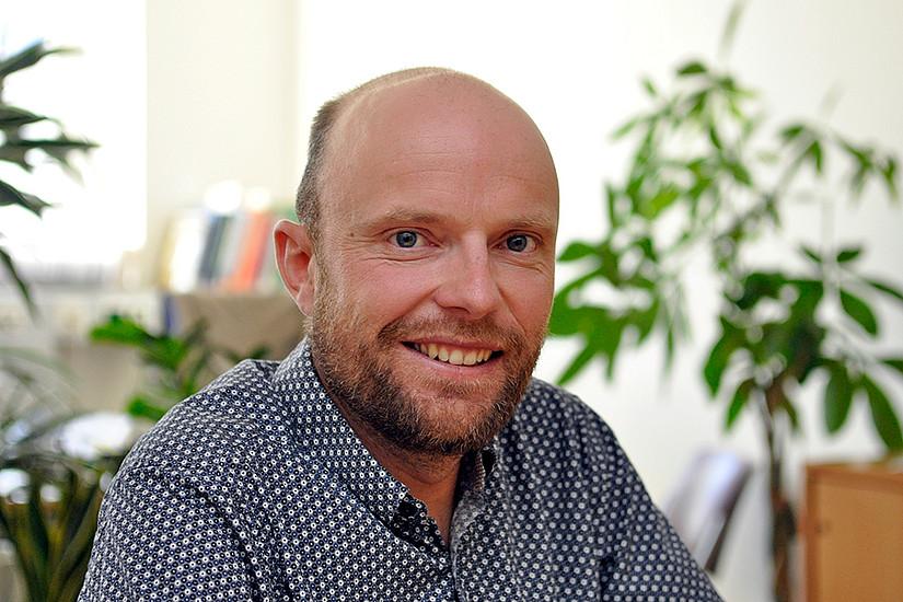 Was Gletscher über den Klimawandel erzählen, untersucht der Meteorologe Jakob Abermann. Foto: Uni Graz/Eklaude