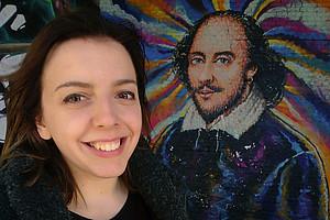 Theresa studiert Germanistik an der Uni Graz. Foto: Stingeder