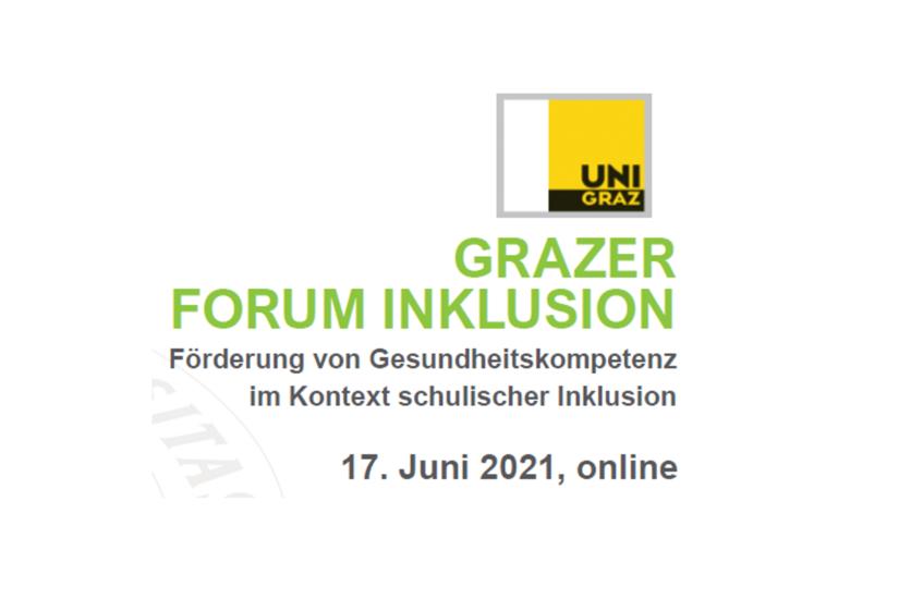Grazer Forum Inklusion 2021