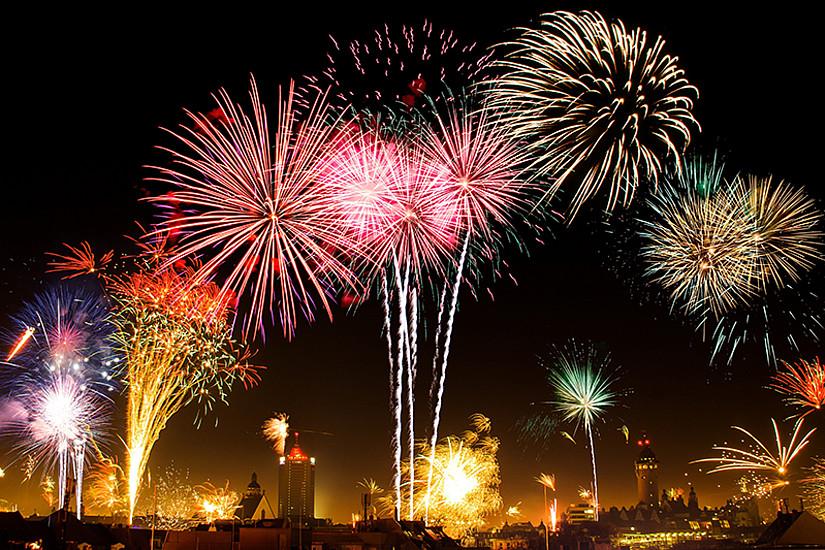 Farbenprächtige Feuerwerke signalisieren nicht nur den Jahreswechsel, sondern erzeugen auch besonders viel so genannten Ultrafeinstaub. Foto: nickgesell/pixabay.com