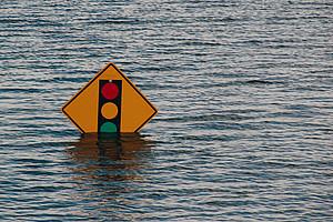 Hochwasser ist nur eine Konsequenz der Klimawandelfolgen. Foto: Kelly Sikema/unsplash.com