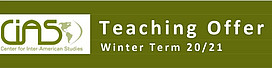 Teaching Winter Term 20/21