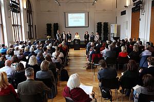 Am 10. November 2017 fand der 2. Curricula-Tag der Sekundarstufe Allgemeinbildung an der Pädagogischen Hochschule Steiermark statt. Foto: M. Größler / PHSt
