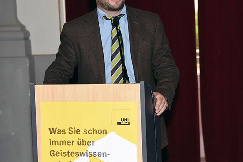 Historiker Hannes Gießauf führte gekonnt unterhaltsam durchs Programm.