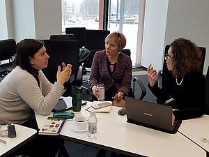 ProjektpartnerInnen beim Meeting in Vilnius. Foto: Dana Rone