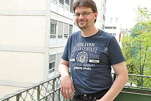 Dirk Brantl ist seit wenigen Wochen am Institut für Philosophie der Uni Graz tätig.