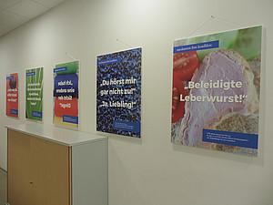 Wanderausstellung im Zentrum für Soziale Kompetenz. Foto: Ursula Pichler