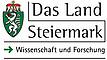 Förderlogo Land Steiermark Wissenschaft und Forschung