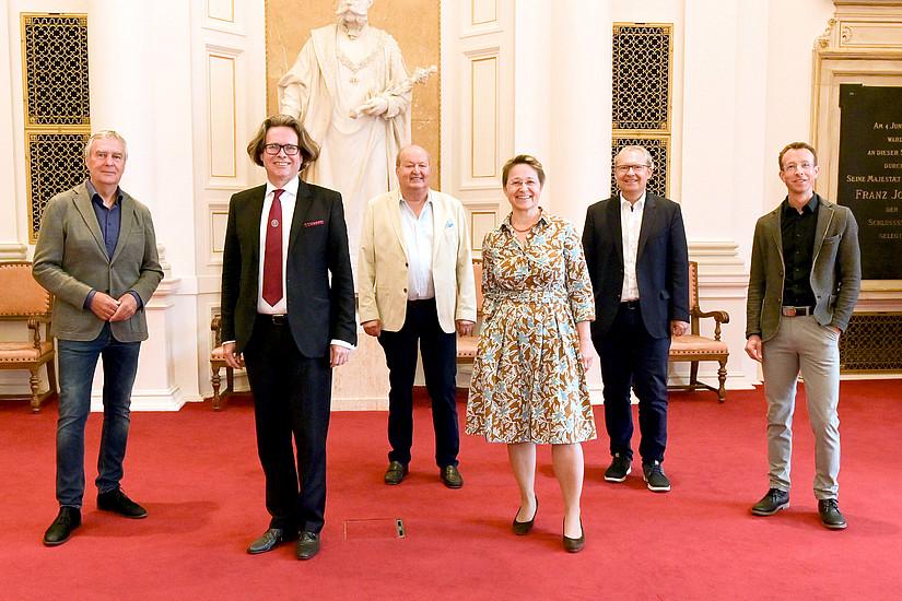 """Pressekonferenz zum Masterlehrgang """"Inhaltliche Grundlagen für Journalismus und Medienarbeit"""""""