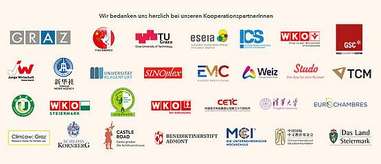 Bild aller PartnerInnen, die das Forum unterstützen