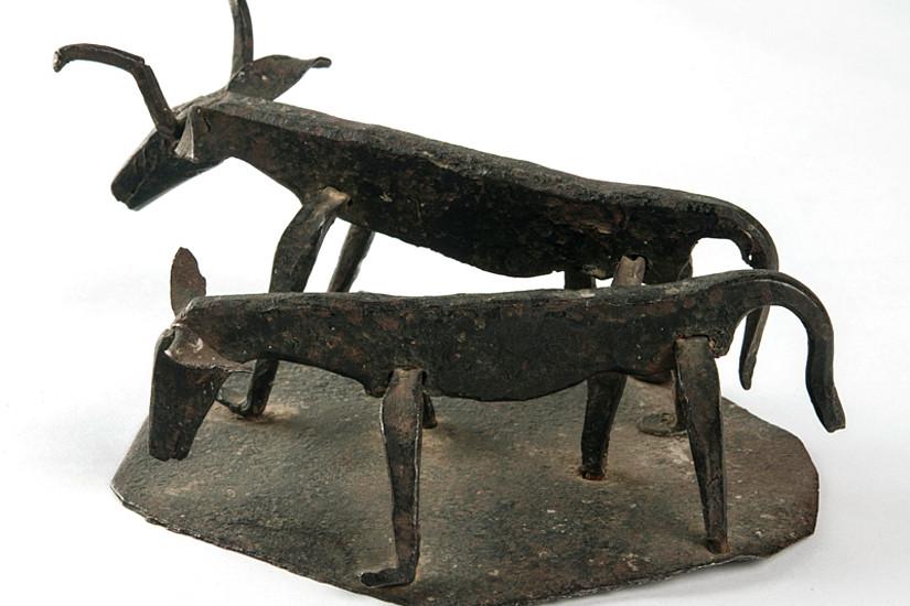 ... oder das Doppelmotiv Kuh und Kalb wurden digitalisiert und stellen virtuell zur Verfügung.