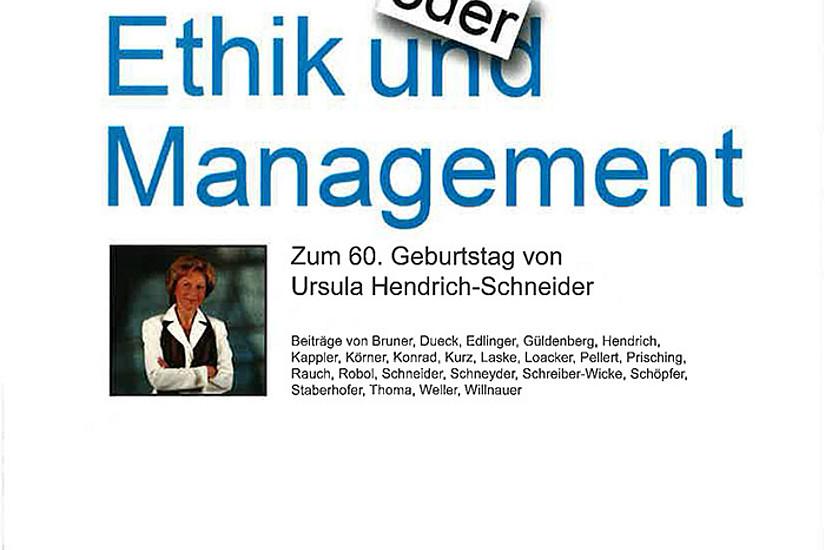 Cover des Buches Ethik und Management