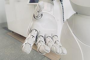 Roboterhand führt in die Zukunft