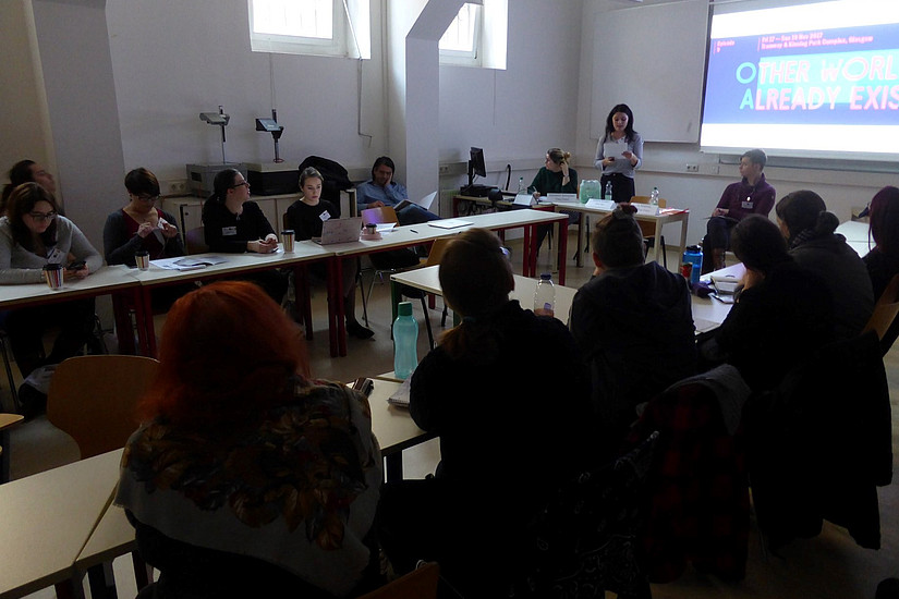 Workshop; Picture Credit: Kulturverein Kunstkessel