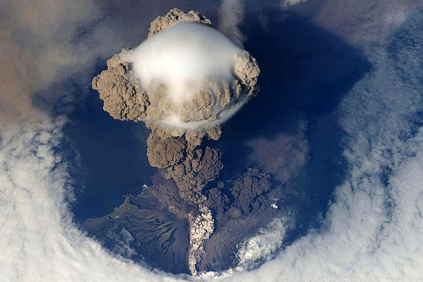 Vulkanwolke. Foto: Pixabay
