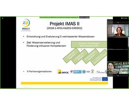 Screenshot IMAS II Event Overview