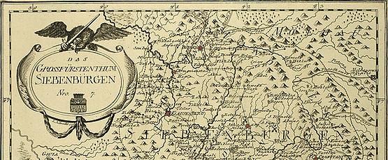 """Das Grossfürstenthum Siebenbürgen. """"Schauplatz der fünf Theile der Welt"""", hg. v. Franz Anton Joseph von Reilly. Wien 1789"""