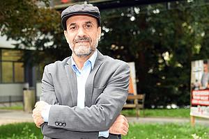 Seyyed Hassan Eslami Ardakani, schiitischer Theologe aus dem Iran, eröffnet in Graz neue Perspektiven auf den Islam. Foto: Uni Graz/Leljak