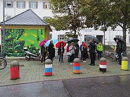 City exchange visit in district Gries