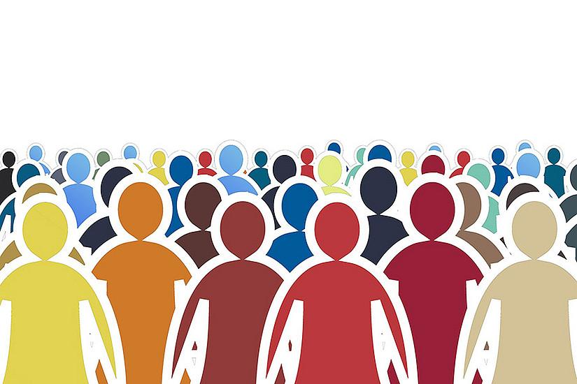 """""""Gesellschaften driften weiter auseinander"""", bestätigt Soziologe Stephan Moebius. Foto: Gerd Altmann auf Pixabay"""