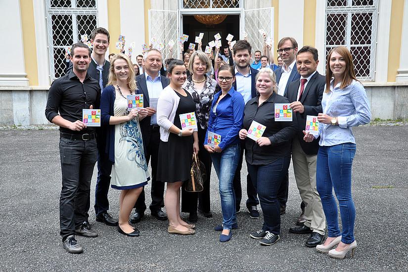 Es nahmen zahlreich Studierende am Entrepreneurship Summit Styria teil Foto: Uni Graz/Steinwender