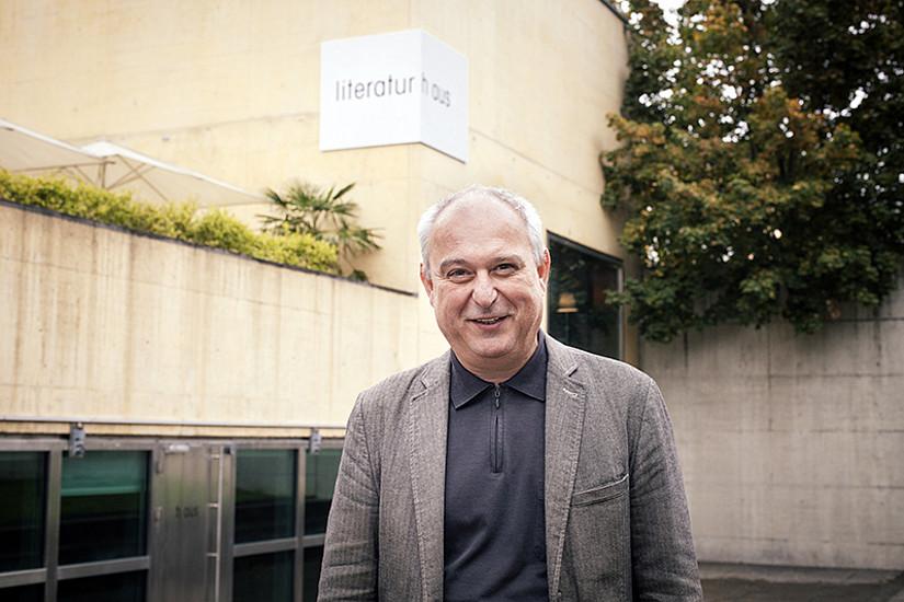 Leiter Klaus Kastberger hat große Pläne für das Literaturhaus und das Franz-Nabl-Institut. Foto: Clara Wildberger